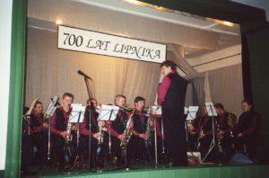 Rok 2000. Pierwszy Koncert Noworoczny Orkiestry Dętej